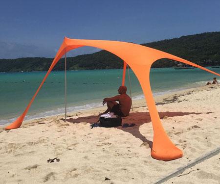 Beach Sun Shade Tent Wu Cart