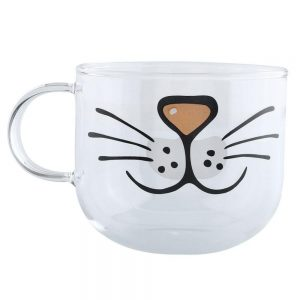Cute Cat Face Mug