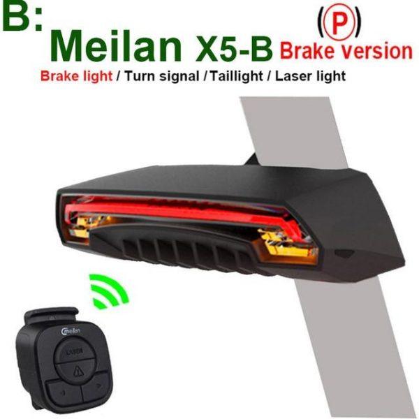 Smart LED Bike Tail Light