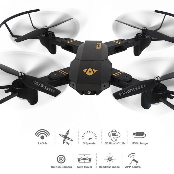 Brand New VISUO XS809HW Wifi FPV 2MP Camera 2.4G Selfie RC Quadcopter Toys