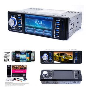 In Dash Car MP5 Player USB/TF MP3 Stereo Audio Receiver Bluetooth FM Radio