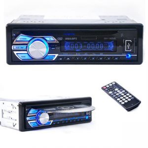 Car Audio Stereo In-Dash DVD CD MP3 Radio Player  SD Input AUX FM Receiver