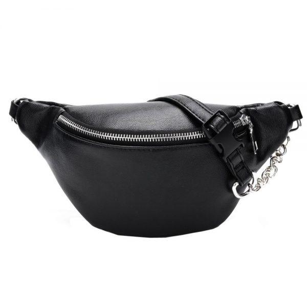 Women Fashion Chain Leather Messenger Bag Shoulder Bag Chest Bag