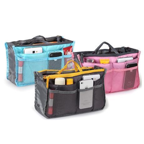 Slim Bag-in-Bag Purse Organizer - Assorted Color