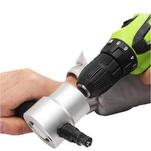 Multipurpose Double Head Sheet Nibbler Metal Cutter Drill