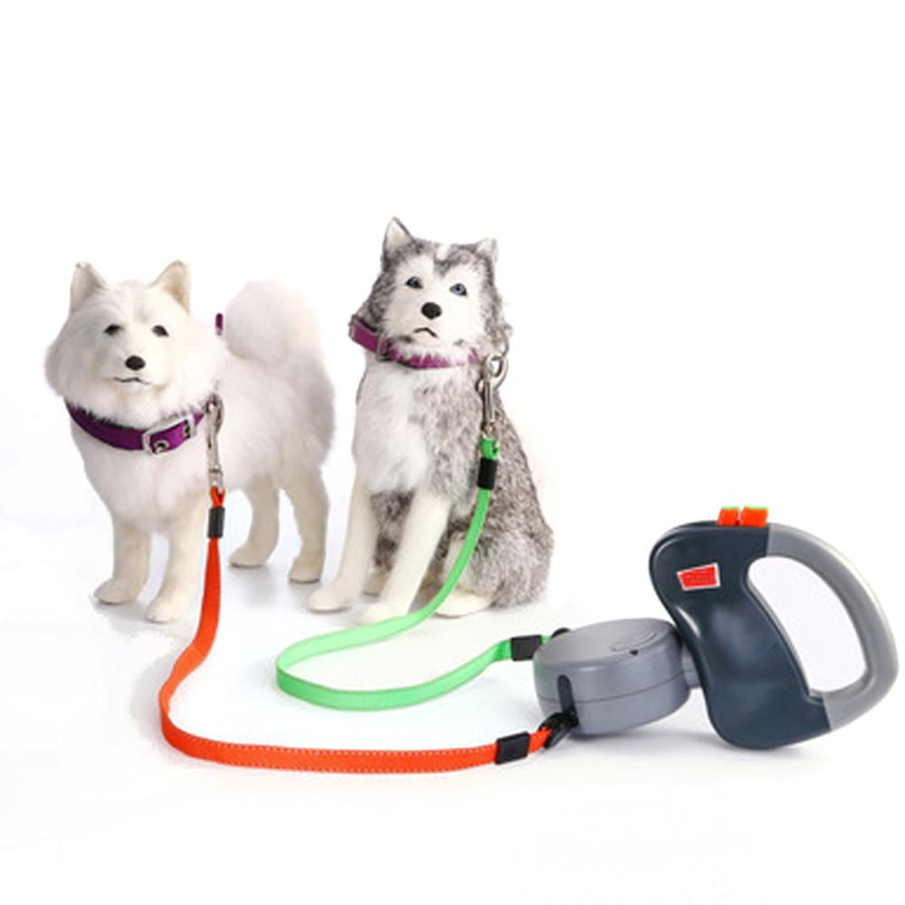 Retractable Dual Dog Leashes - Limited Supply