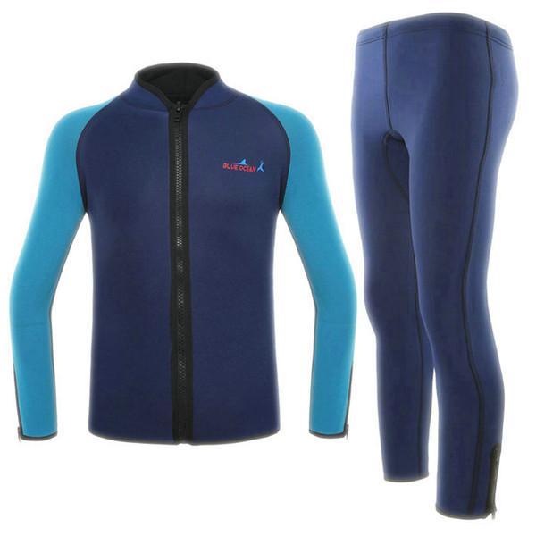 Sport Skin 2 Piece Wet Diving Suit - Premium