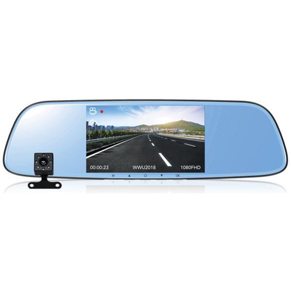 Rear-view Mirror Dual View Dash Cam