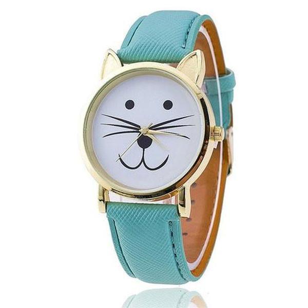 Cute Cat Trendy Watch
