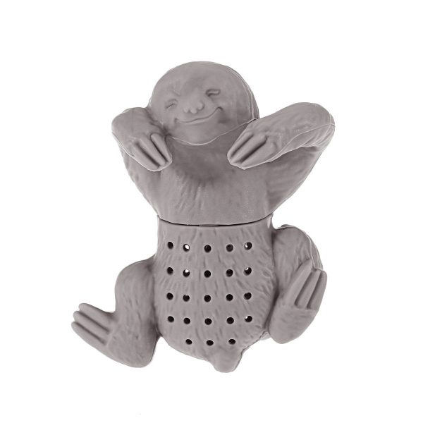Silicone Sloth Tea Infuser Creative Tea Bag Filter Strainer for Coffee Herb Punch