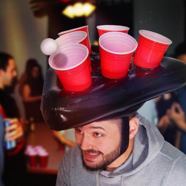 Awesome Beer Pong Hats