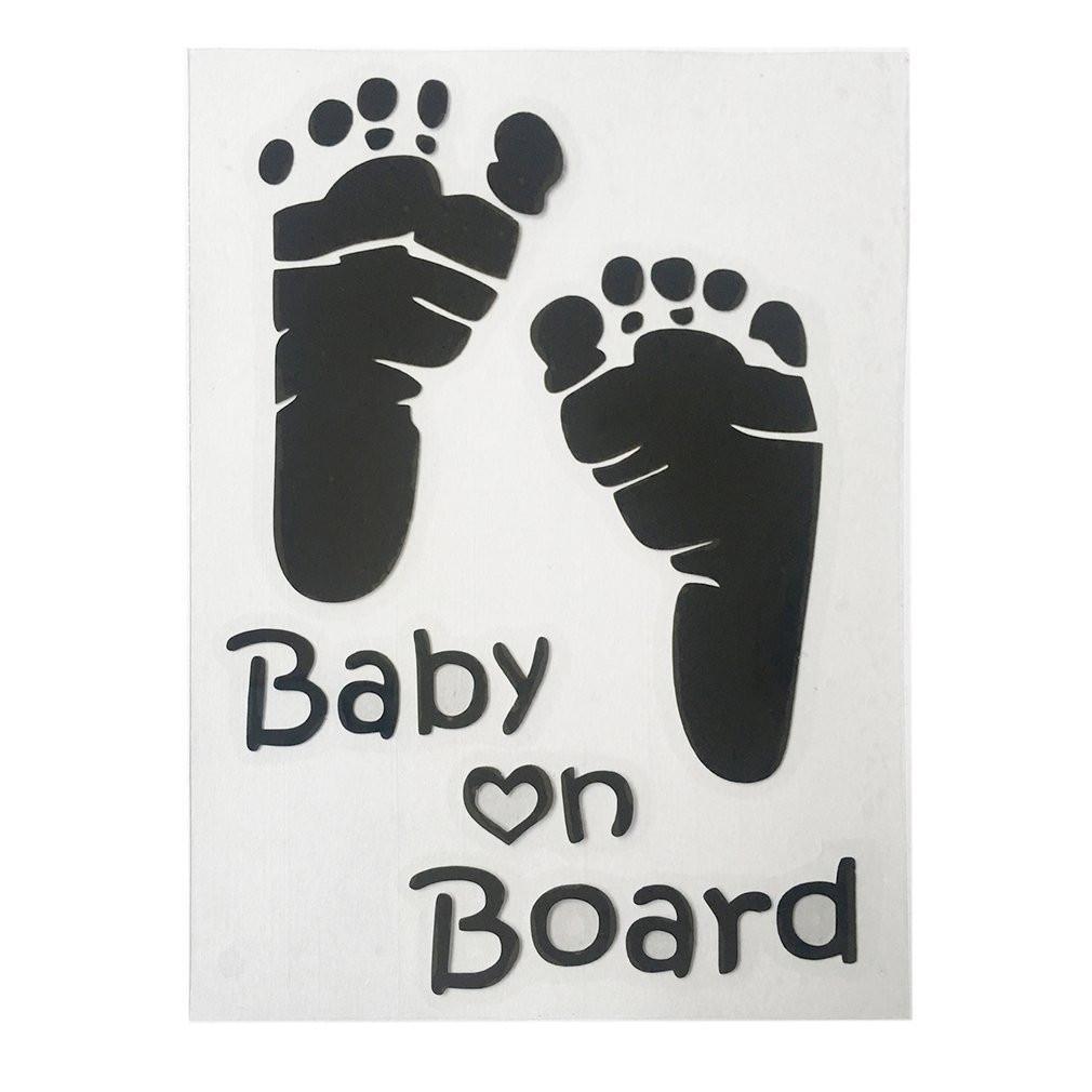 Popular Baby on Board Vinyl Car Graphics Window Sticker Decal Decor Auto