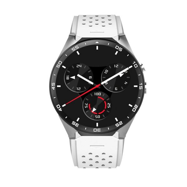 KING-WEAR KW88 Smart Watch Pedometer Heart Rate Monitoring Device Anti-Lost