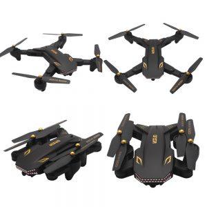 Upgrade VISUO XS809HW Wifi Wide-Angle 2MP Camera 2.4G Selfie RC Quadcopter Toys