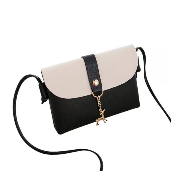 Women Fashion Cover Deer Crossbody Bag Shoulder Bag Phone Bag Coin Bag