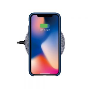 Fabric Wireless Fast Charging Charger Pad For iphone X/8/8Plus For Samsung