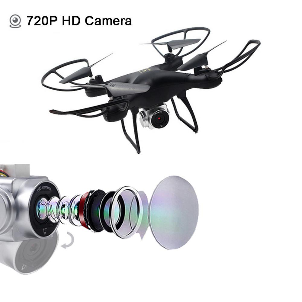 Wide Angle Lens 720P HD Camera Quadcopter RC Drone WiFi FPV 1600Mah Battery