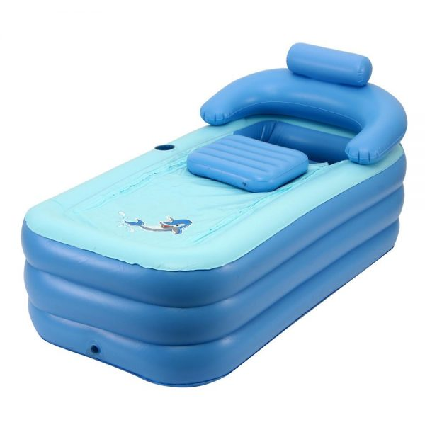 Portable Adult Baby SPA Inflatable Bath Foldable Swimming Pool