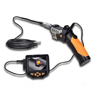 "3M Cable 3.5"" LCD Inspection Camera 8.2mm Borescope Endoscope Zoom Rotate Video"