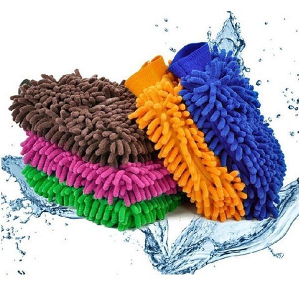 Microfiber Car Washing Gloves