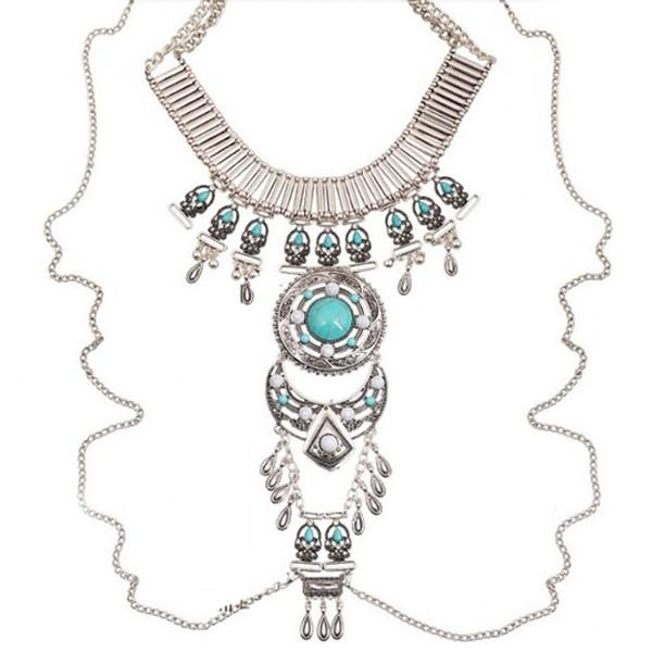 Izta Dream Tribal Necklace