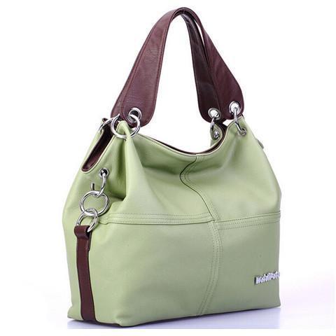 Women's Leather Shoulder Handbag