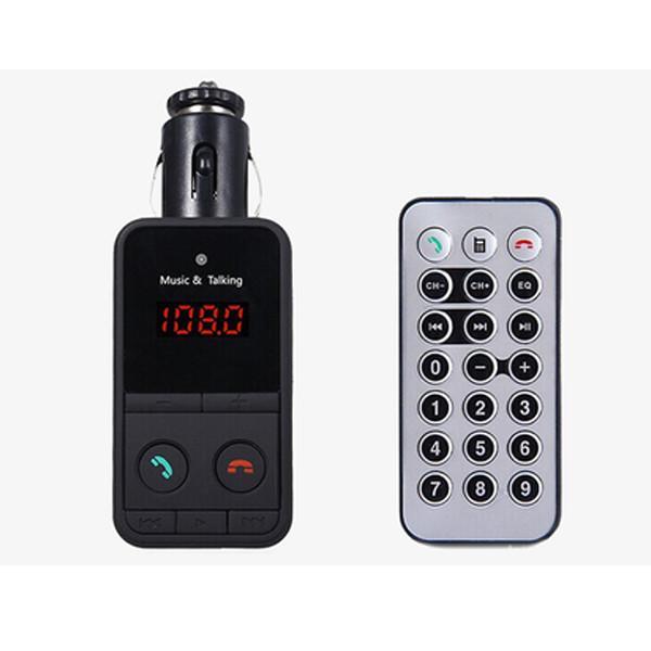 Hands-Free Car Kit FM Transmitter