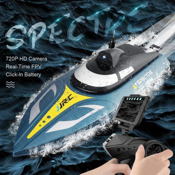 JJRC S4 F1 2.4G 720P WIFI FPVRC Boat 25KM/h Speed Racing Remote Control Airship